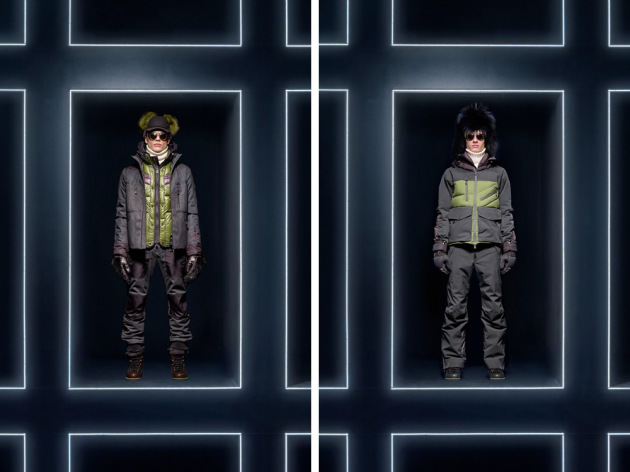 Displayed as a whole exceeding 370 models, Moncler demonstrated